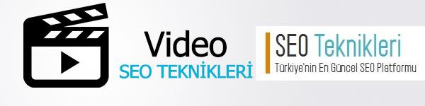 video-seo-teknikleri